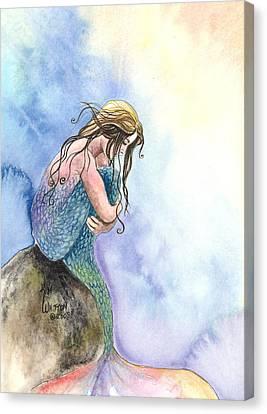 Wishful Thinking Canvas Print by Kim Whitton