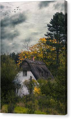 Witch Cottage Canvas Print by Joana Kruse