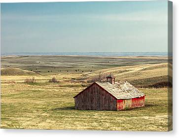 Withering Barn Canvas Print by Todd Klassy