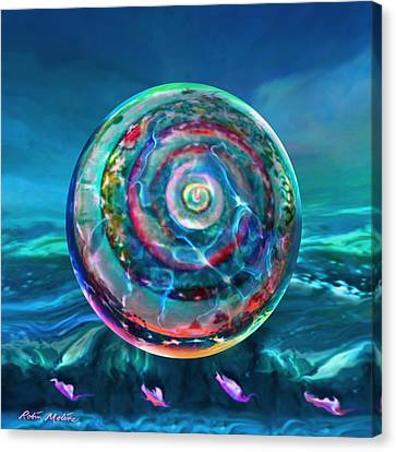 Withstanding Orby Weather Canvas Print by Robin Moline