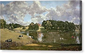 Wivenhoe Park Canvas Print by John Constable