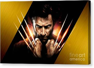 Wolverine Collection Canvas Print by Marvin Blaine