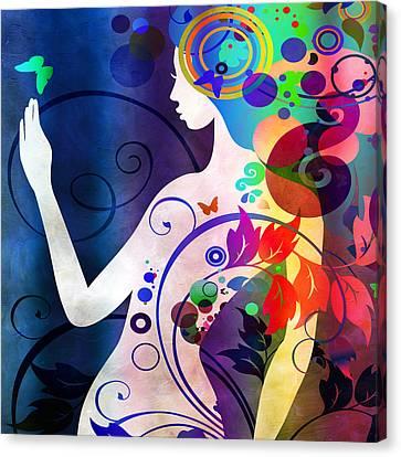Wonder Canvas Print by Angelina Vick