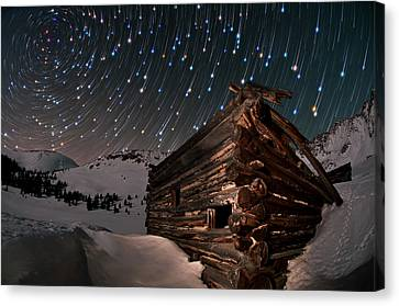 Wonders Of The Night Canvas Print by Mike Berenson