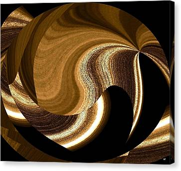 Wood Grains Canvas Print by Will Borden