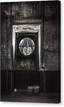 Woodburn From Inside Out Canvas Print by Jacki Marino