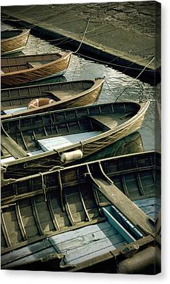 Wooden Boats Canvas Print by Joana Kruse