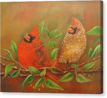 Woodland Royalty Canvas Print by Loretta Luglio