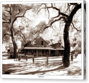 Woodside Store Canvas Print by Lar Matre