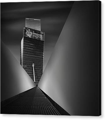 Working Dynamics I ~ Kpn Telecom Tower Canvas Print by Mabry Campbell