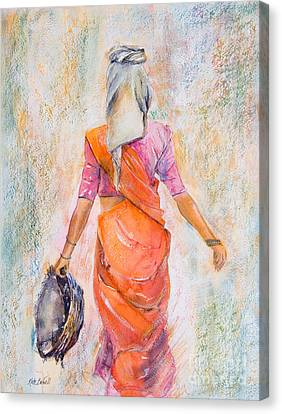 Working Woman Canvas Print by Kate Bedell