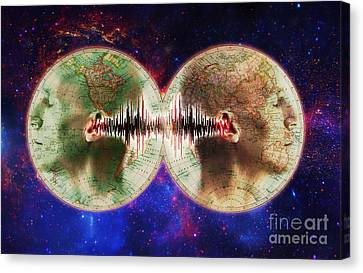 World Communications Canvas Print by George Mattei