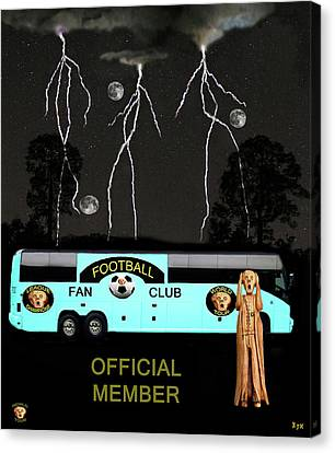 World Football Official Member Canvas Print by Eric Kempson