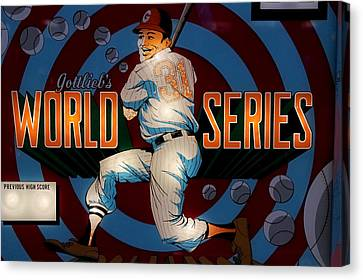 World Series Pinball Canvas Print by Colleen Kammerer