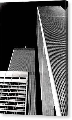 World Trade Center Pillars Canvas Print by Deborah  Crew-Johnson