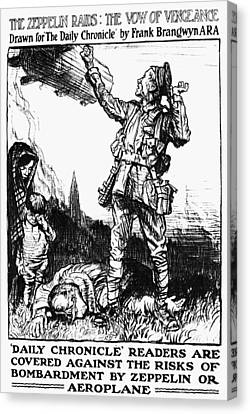 World War I: Poster Canvas Print by Granger