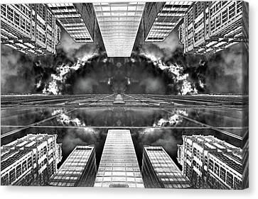 Worlds End  Canvas Print by Az Jackson