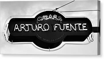 Worlds Finest Cigar Canvas Print by David Lee Thompson