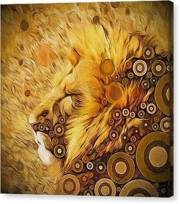 Worlds Of Aslan Canvas Print by Amanda Lakey