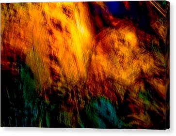 Wounded Earth 2 Canvas Print by Tim Thorpe
