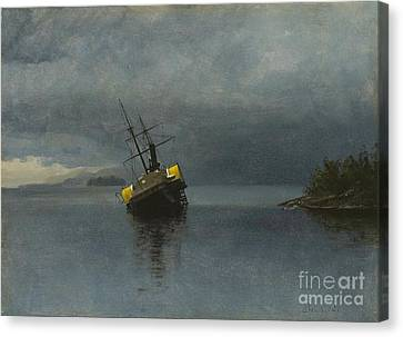 Wreck Of The Ancon Canvas Print by Celestial Images