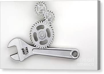 Wrench Canvas Print by Blink Images