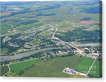 Wrightstown Wisconsin Canvas Print by Bill Lang