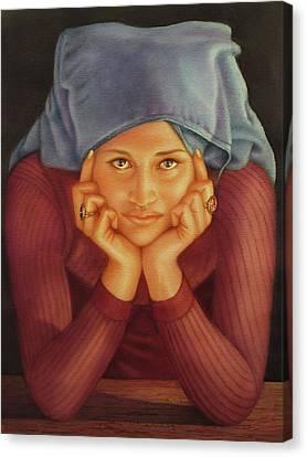 Ws1979ar001 Sylvia Buenos Aires Canvas Print by Alfredo Da Silva