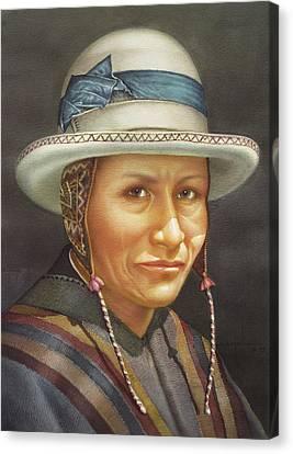 Ws1979bo008potosi Juan 14x20 Canvas Print by Alfredo Da Silva
