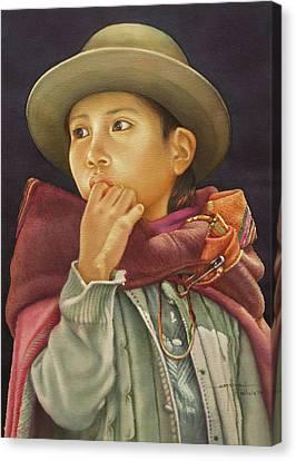 Ws1979bo010potosi Julia 14x20 Canvas Print by Alfredo Da Silva