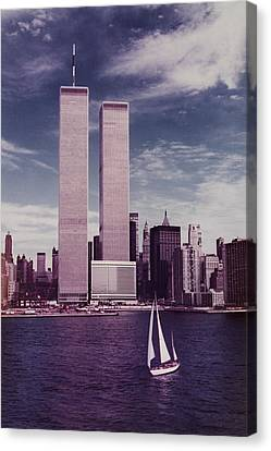 wtc Remembered Canvas Print by Laura Fasulo