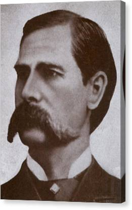 Wyatt Earp 1848-1929, Legendary Western Canvas Print by Everett