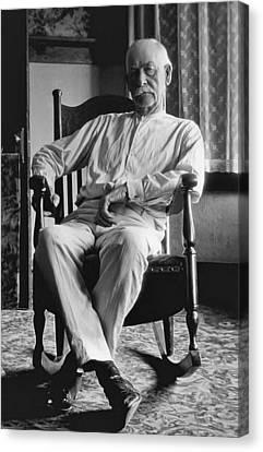 Wyatt Earp 1923 - Los Angeles Canvas Print by Daniel Hagerman