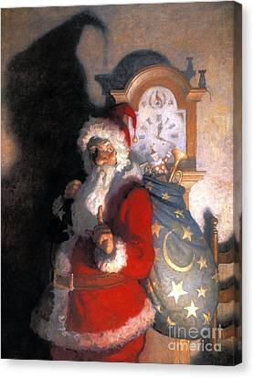 Wyeth: Old Kris (kringle) Canvas Print by Granger