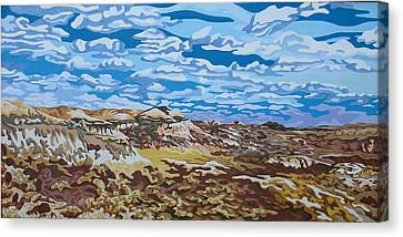 Wyoming Afternoon Canvas Print by Dale Beckman