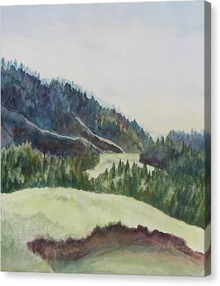 Wyoming Glow Canvas Print by Jenny Armitage