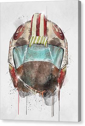 X Wing Pilot Canvas Print by Bri B