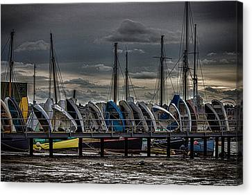 Yacht Club Canvas Print by Martin Newman