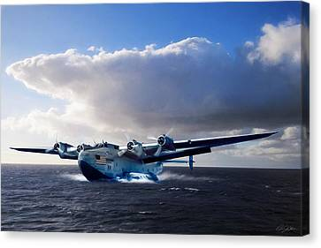 Yankee Clipper Canvas Print by Peter Chilelli