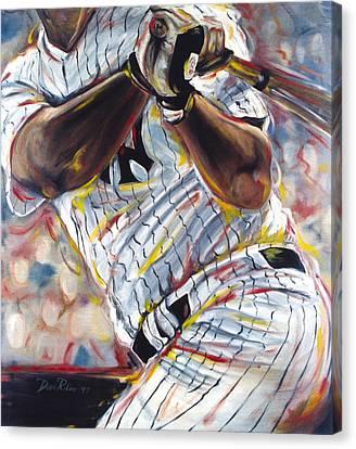 Yankee Canvas Print by Redlime Art