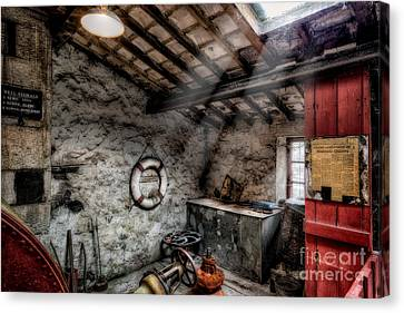 Ye Olde Workshop Canvas Print by Adrian Evans