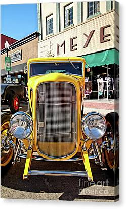 Yellow Fever Canvas Print by Jimmy Ostgard