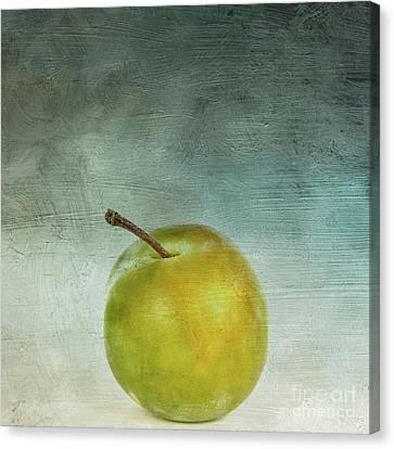 Yellow Plum Canvas Print by Bernard Jaubert