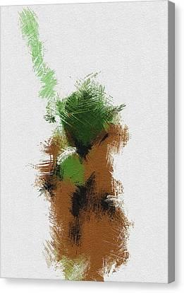 Yoda Canvas Print by Miranda Sether