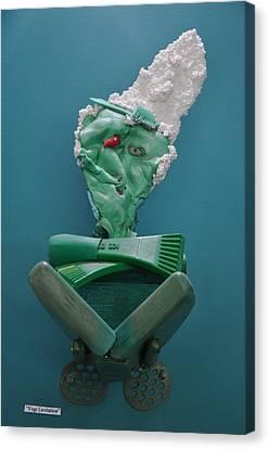 Yogi Levitation Canvas Print by Michael Jude Russo