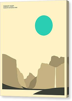 Yosemite National Park Canvas Print by Jazzberry Blue