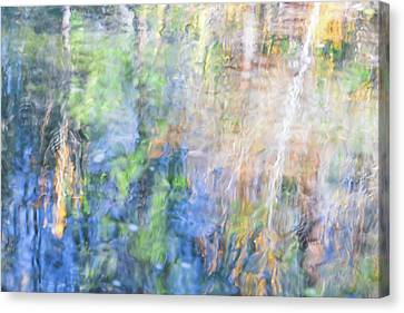 Yosemite Reflections 4 Canvas Print by Larry Marshall