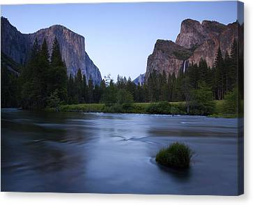 Yosemite Twilight Canvas Print by Mike  Dawson