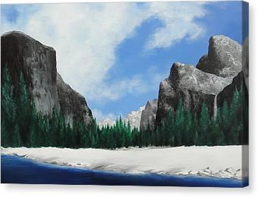 Yosemite Valley Canvas Print by Robert Plog
