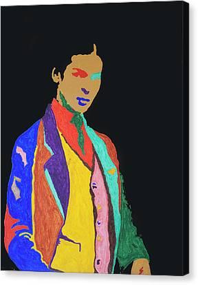 Young Frida K Canvas Print by Stormm Bradshaw